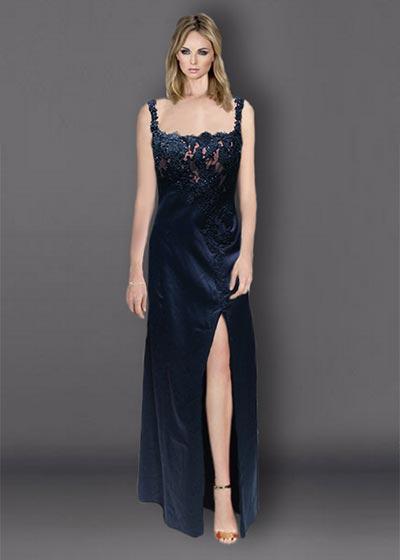 שמלות ערב תחרה ארוכה TIT1498