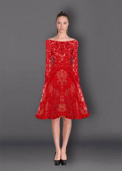 שמלות תחרה TIT813