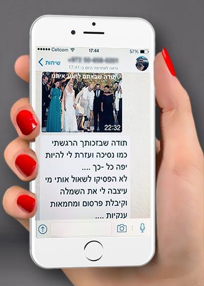המלצות על ישראלה קריבושי המלצות על שמלות ערב