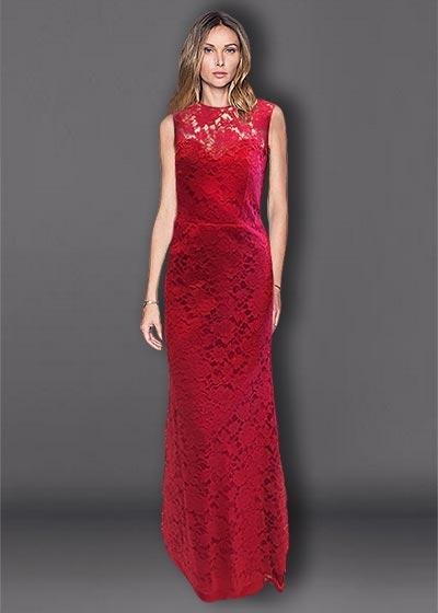 שמלת תחרה TR2710